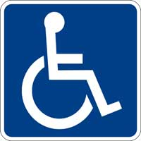 Handicapped ADA Text Website