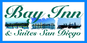 Bay Inn and Suites Sea World Logo Click to Full Website